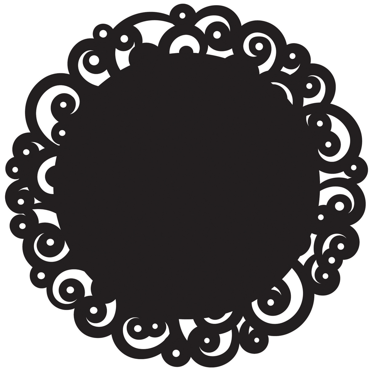Clipart doilies picture black and white download Doily Clipart | Free download best Doily Clipart on ClipArtMag.com picture black and white download
