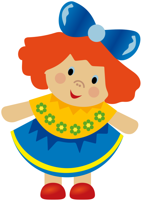 Clipart doll image free stock Free Clipart: Doll (CMYK) | azex image free stock