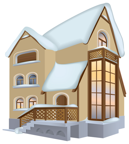 Clipart images of house graphic freeuse library Winter House PNG Clipart Image | Gallery Yopriceville - High ... graphic freeuse library