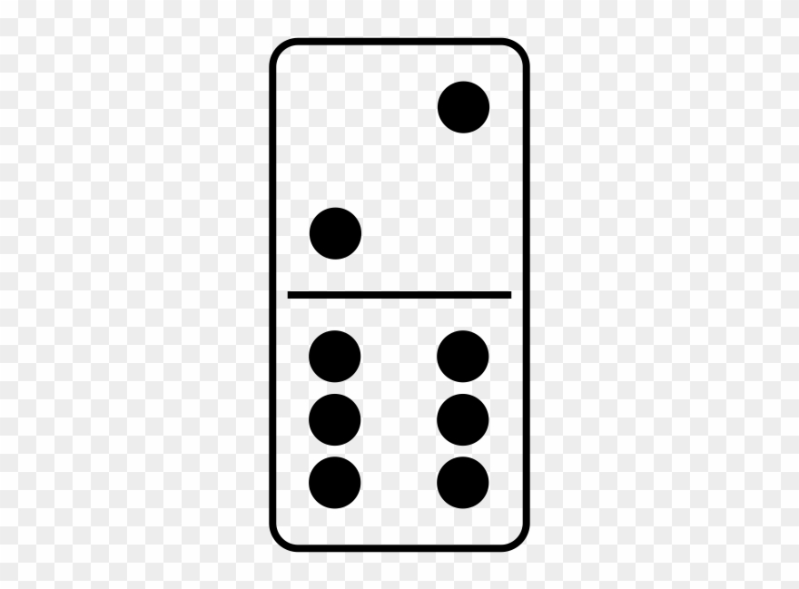 Domino clipart black and white vector free Dominoes Png - Black And White Domino Clipart Transparent Png ... vector free