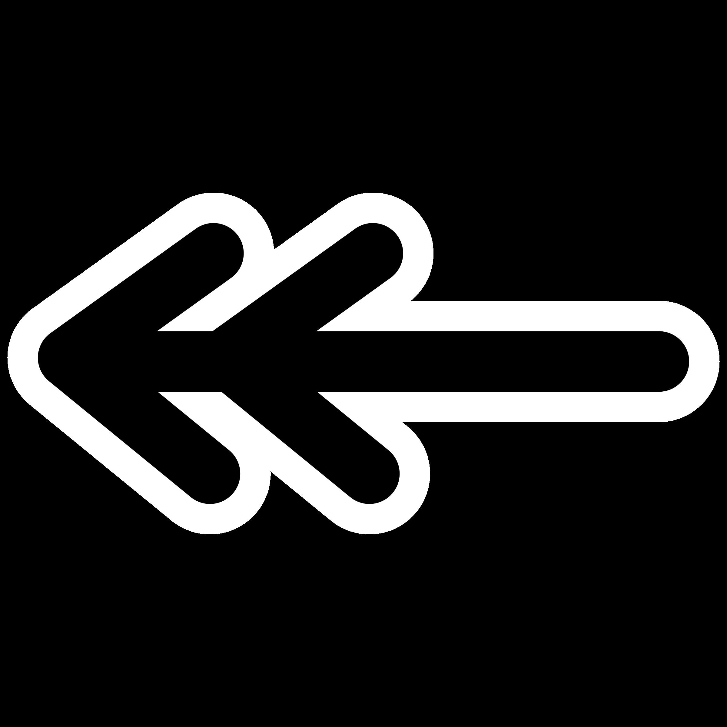 Clipart double arrow vector stock Clipart - mono line double line arrow begin vector stock