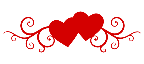 Clipart double hearts clip free library Double Heart Clipart - Clipart Kid clip free library
