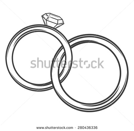 Clipart double wedding rings clip free Clipart double wedding rings - ClipartFest clip free