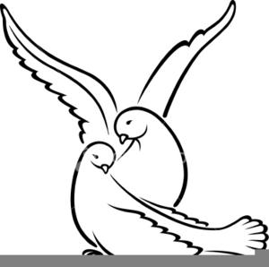 Wedding doves clipart free clip art royalty free download Wedding Dove Clipart | Free Images at Clker.com - vector clip art ... clip art royalty free download