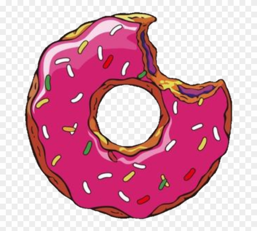 Donut pictures clipart graphic library stock Donut Sticker - Doughnut Clipart (#3578472) - PinClipart graphic library stock