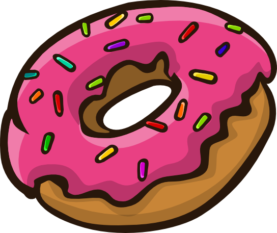 Donut clipart free clipart free stock Donut Clipart Free | Free download best Donut Clipart Free on ... clipart free stock