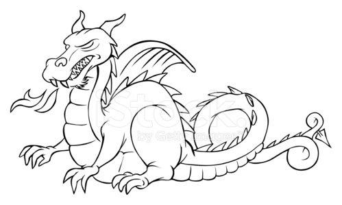 Clipart dragon outline svg free download Dragon Outline premium clipart - ClipartLogo.com svg free download