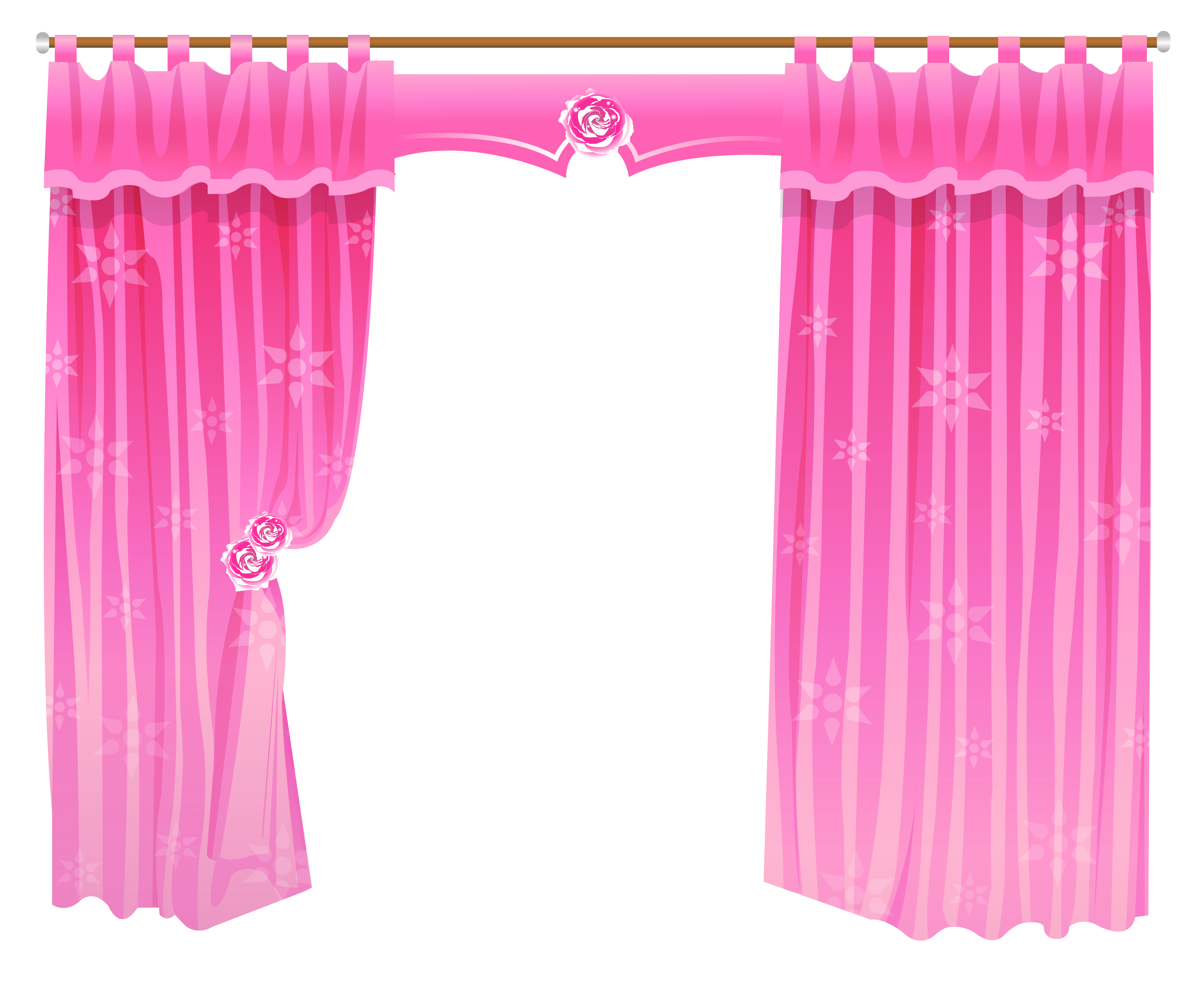 Clipart drapes vector stock Free Curtain Cliparts, Download Free Clip Art, Free Clip Art on ... vector stock
