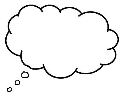 Clipart dream cloud freeuse download Cloud Thought Bubble - Clip Art Library freeuse download