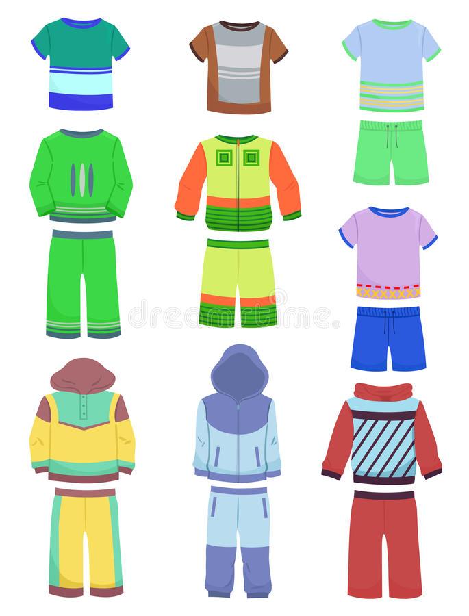 Sports attire clipart