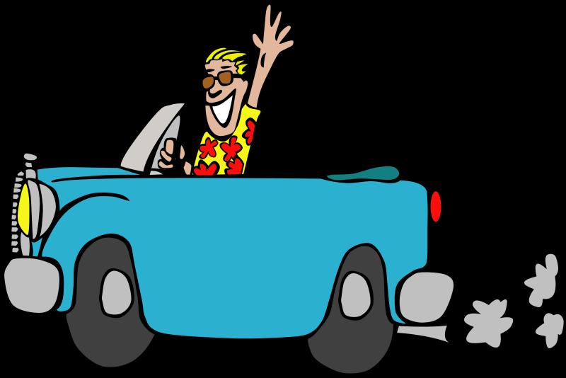 Driving car clipart transparent download Clipart - Driving a car transparent download