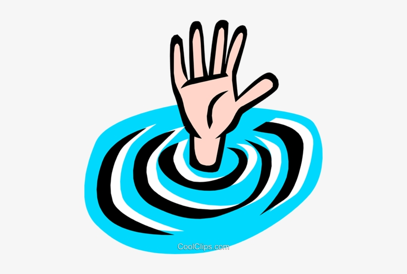 Clipart drowning clipart royalty free Drowning Man Royalty Free Vector Clip Art Illustration - Drowning ... clipart royalty free