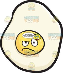 Clipart dubious picture royalty free download Sunny Side Up Looking Dubious And Sarcastic Emoji picture royalty free download