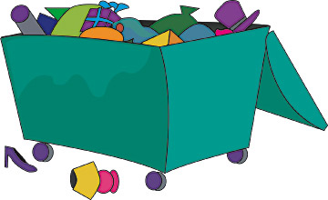Dumpster pictures clipart