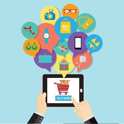 Clipart e commerce clipart freeuse stock Online Shopping E Commerce Business Button Order Item premium ... clipart freeuse stock