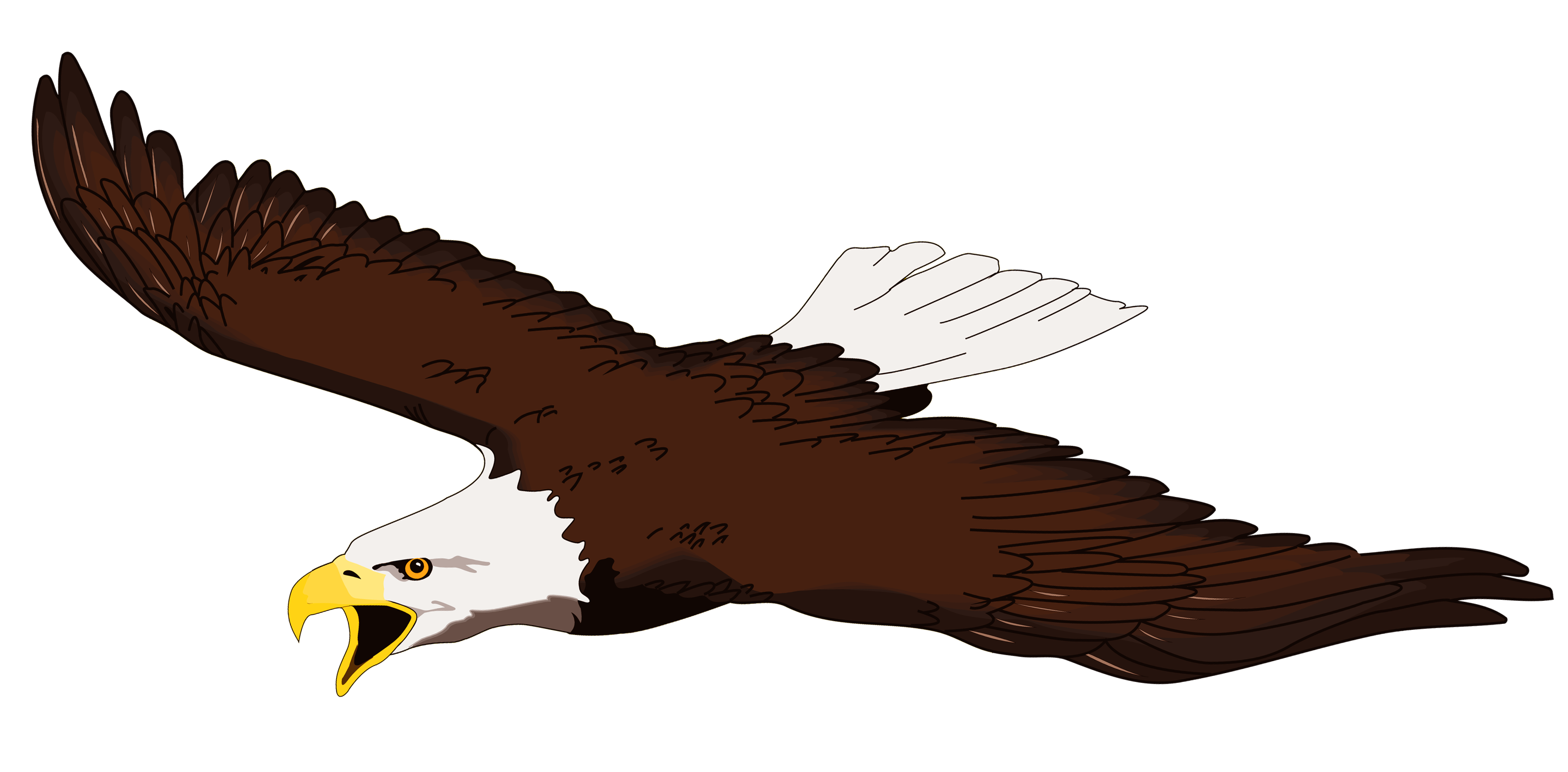 Soaring eagle clipart image black and white stock Free Eagle Cliparts, Download Free Clip Art, Free Clip Art on ... image black and white stock