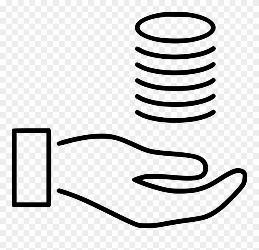 Clipart earns svg freeuse Money Salary Earn Income Pay Earnings Comments - Line Art Clipart ... svg freeuse