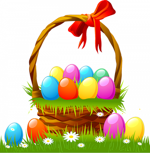 Clipart easter basket jpg free download Easter Basket Clipart & Easter Basket Clip Art Images - ClipartALL.com jpg free download