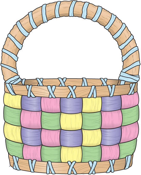 Clipart easter basket graphic freeuse download Easter Basket Clip Art & Easter Basket Clip Art Clip Art Images ... graphic freeuse download