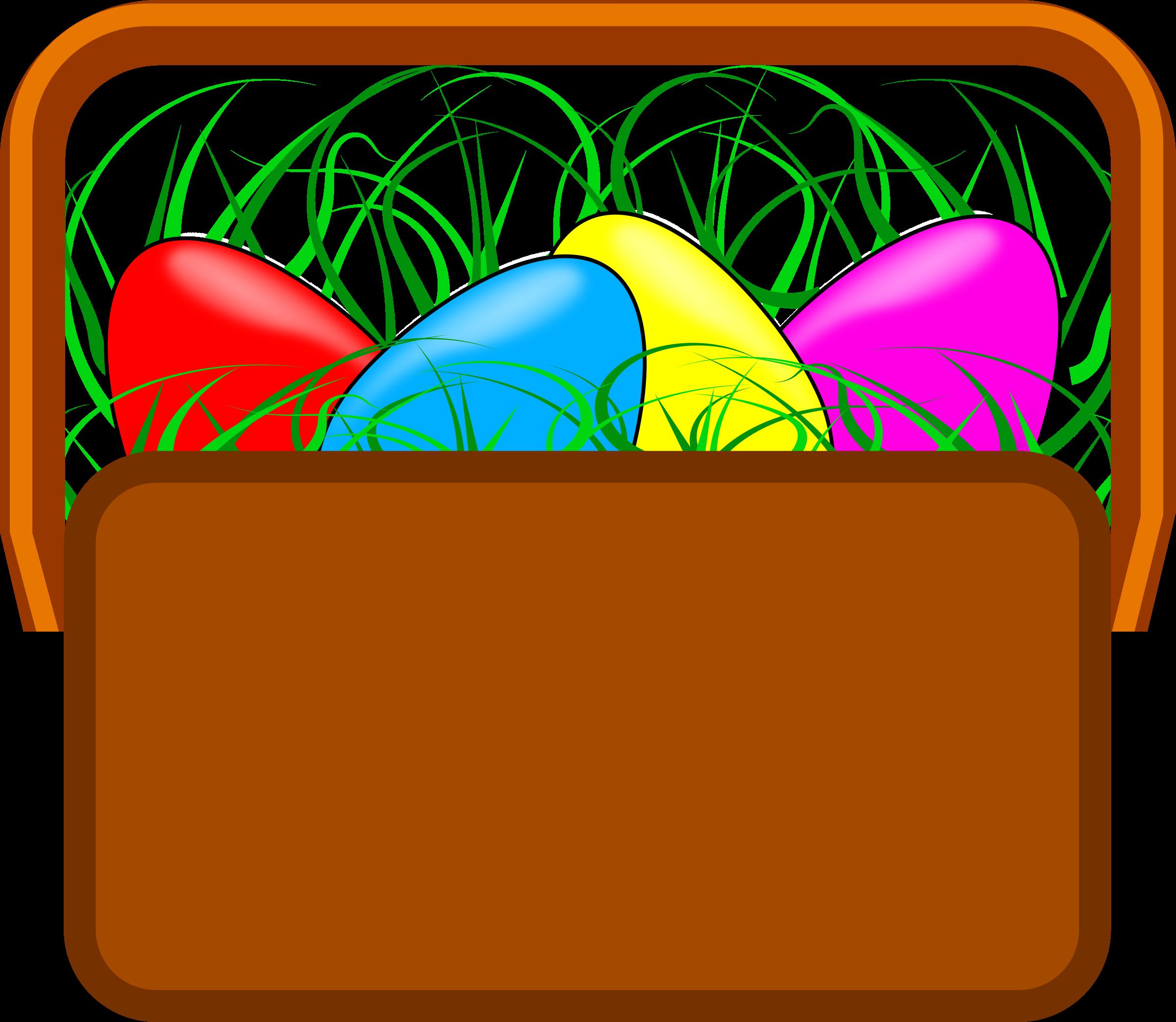 Clipart easter basket vector freeuse download Clipart - Easter Basket Clipart vector freeuse download