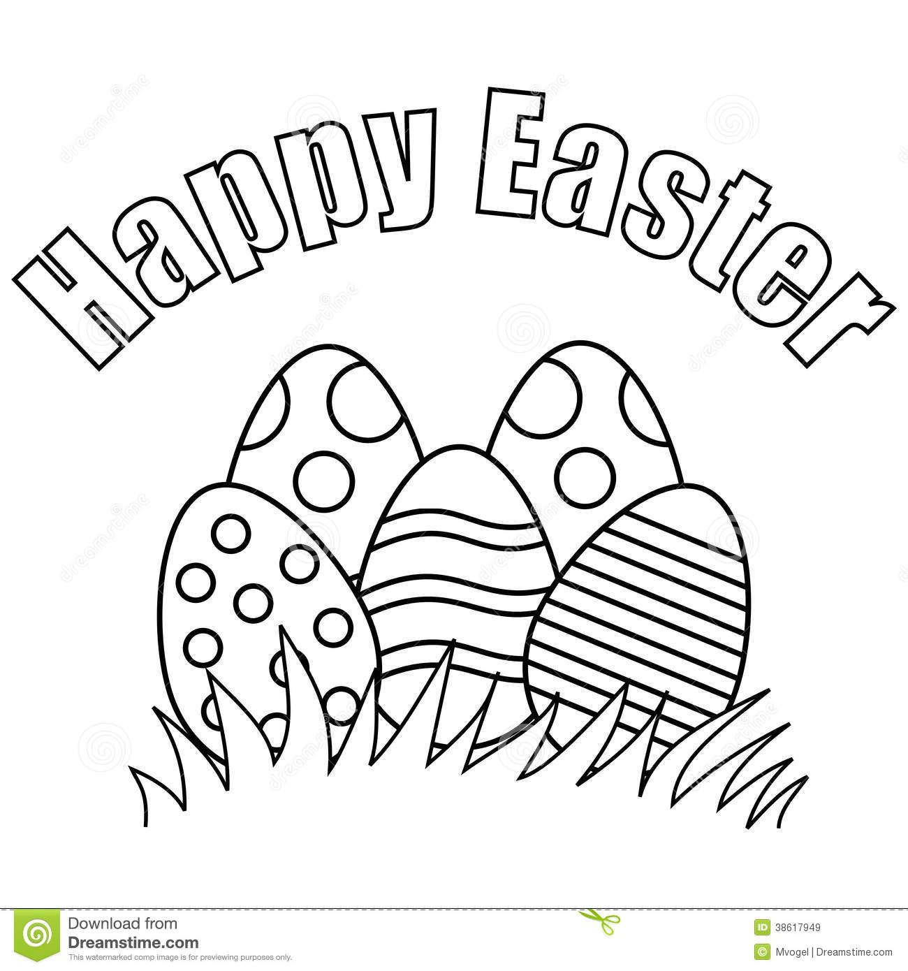 Easter clipart black graphic transparent download Easter Clip Art Free Black And White – HD Easter Images graphic transparent download