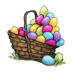 Clipart easter egg basket clip art royalty free stock Easter egg basket clipart - ClipartFest clip art royalty free stock
