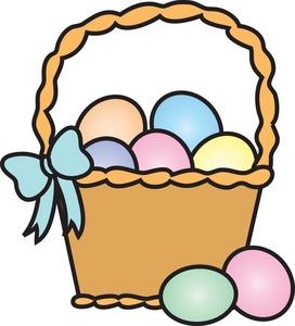 Clipart easter egg basket svg freeuse download Easter egg basket clipart - ClipartFest svg freeuse download