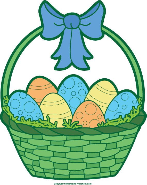 Clipart easter egg basket clip free library Easter Basket Clip Art & Easter Basket Clip Art Clip Art Images ... clip free library