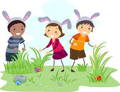 Clipart easter egg hunt. Clip art and stock