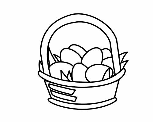 Clipart easter egg hunt black and white clip art freeuse stock Easter Egg Hunt Clipart | Free Download Clip Art | Free Clip Art ... clip art freeuse stock