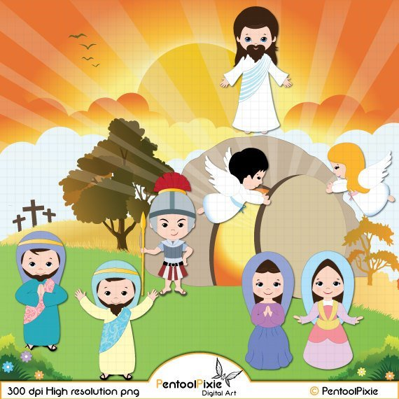 Clipart easter jesus picture black and white Jesus easter clipart 6 » Clipart Portal picture black and white