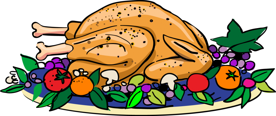 Clipart eating dinner thanksgiving vector royalty free stock What's your favorite thing and food on Thanksgiving? – Tiger Pause vector royalty free stock