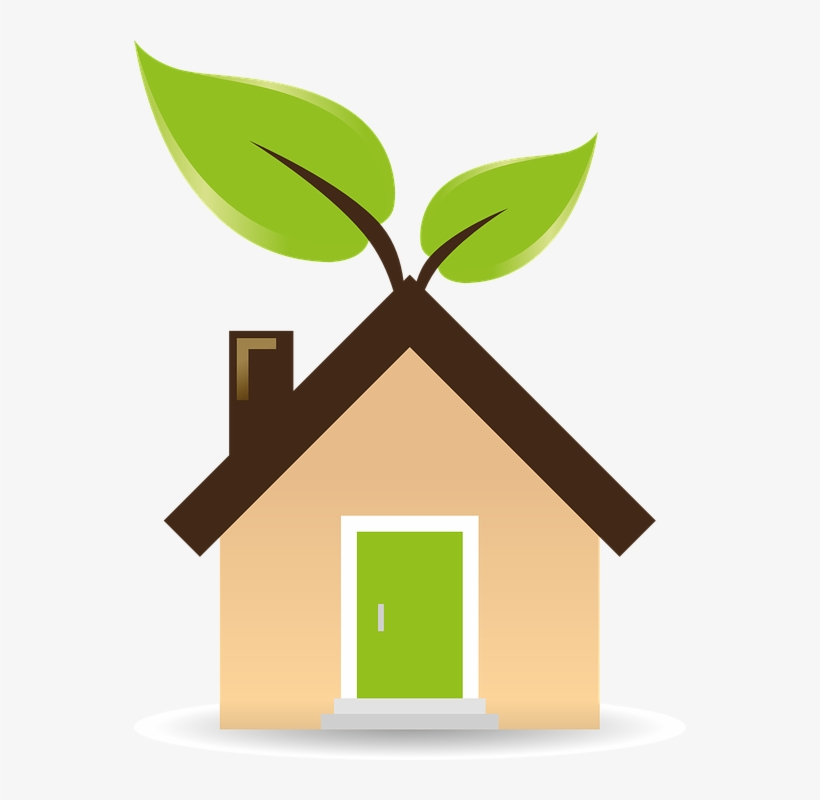 Clipart eco house banner library 5 Eco-friendly Home Building Methods - Green Energy Clipart ... banner library