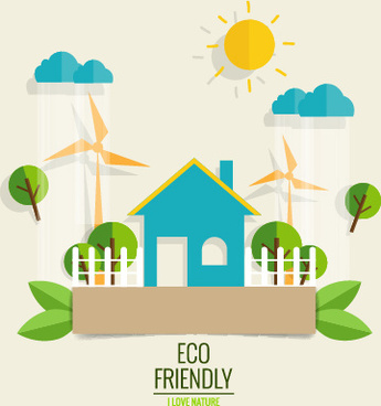 Clipart eco house picture black and white Eco friendly clipart free vector download (4,448 Free vector) for ... picture black and white