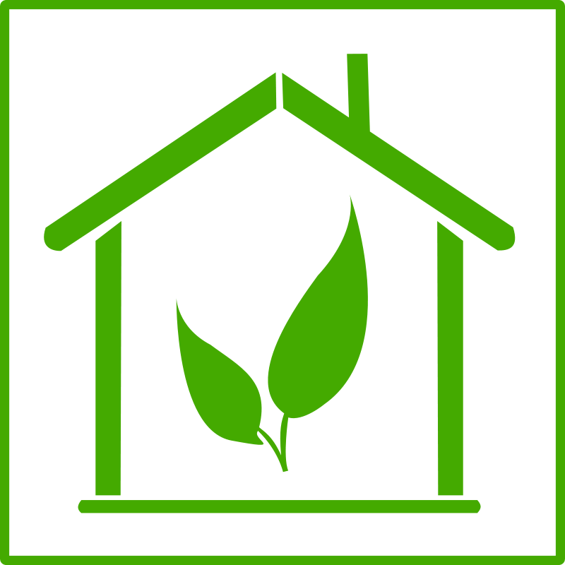 Clipart eco house svg free library Free Clipart: Eco green house icon | dominiquechappard | website ... svg free library