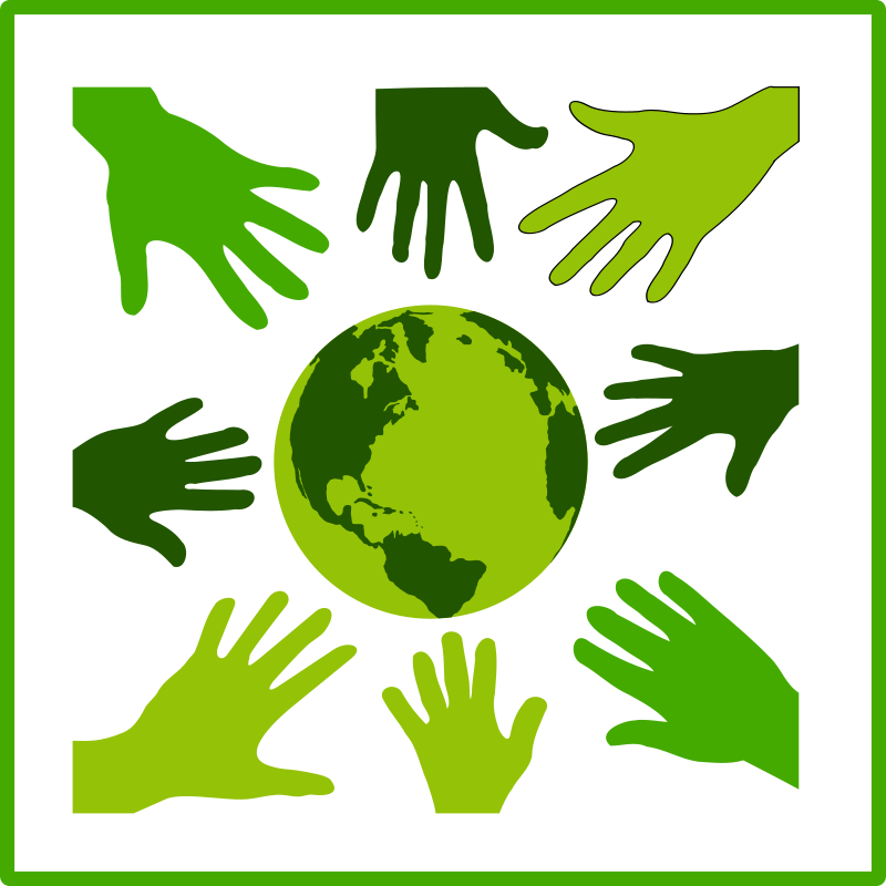 Solidariry clipart png free stock Free Clipart: Eco green solidarity icon | dominiquechappard png free stock