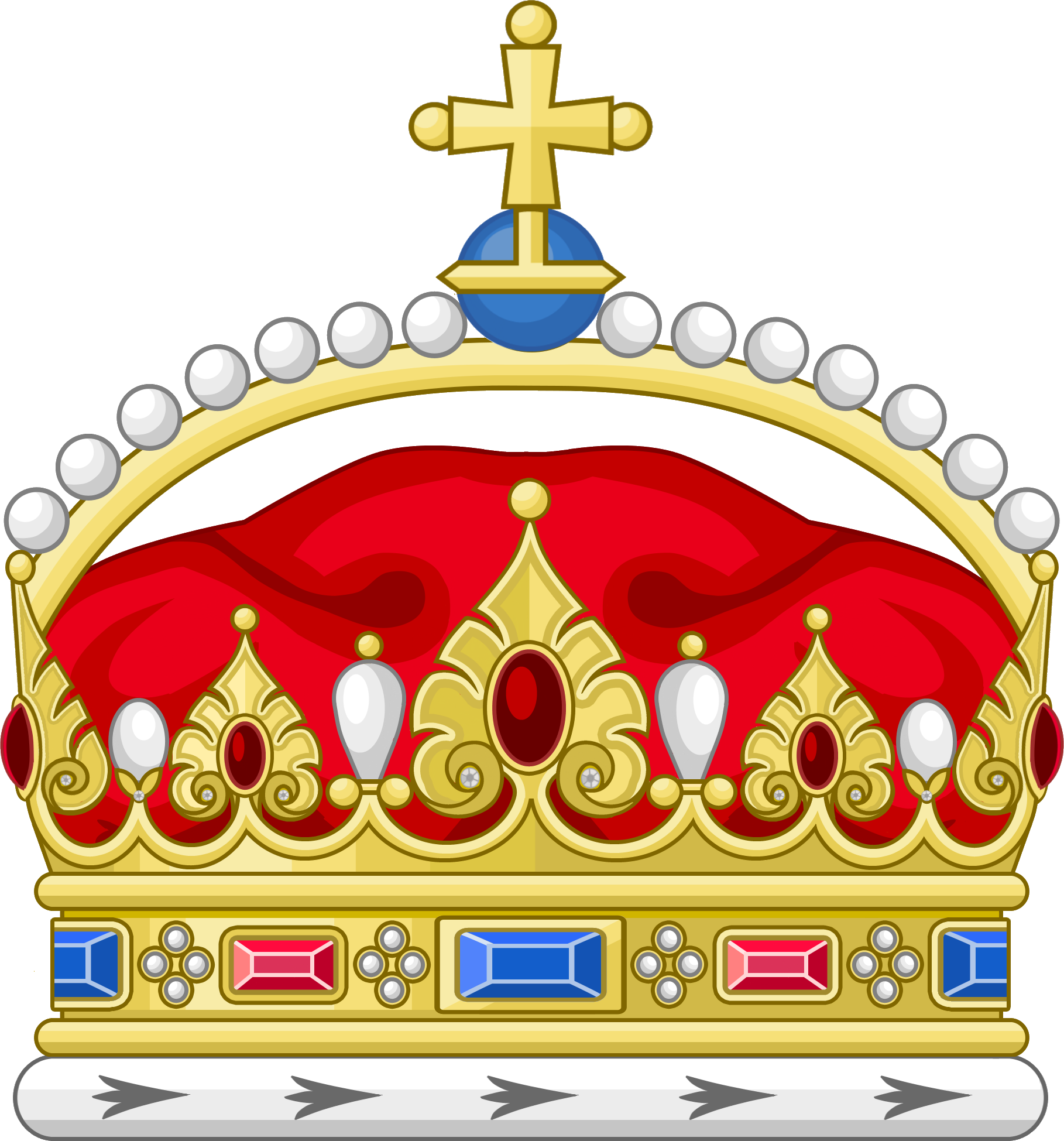 Clipart egpyt crown clipart free File:The Queens Crown.png - MicrasWiki - Hanslodge Cliparts clipart free