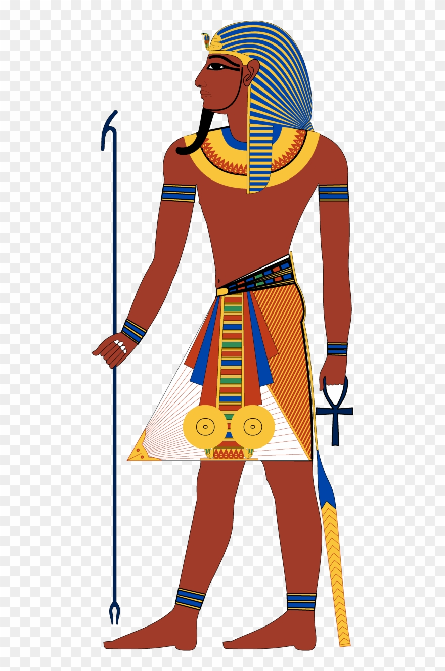 Clipart egyptian gods svg download Pharaoh - Ancient Egyptian Gods Clothing Clipart (#726286) - PinClipart svg download