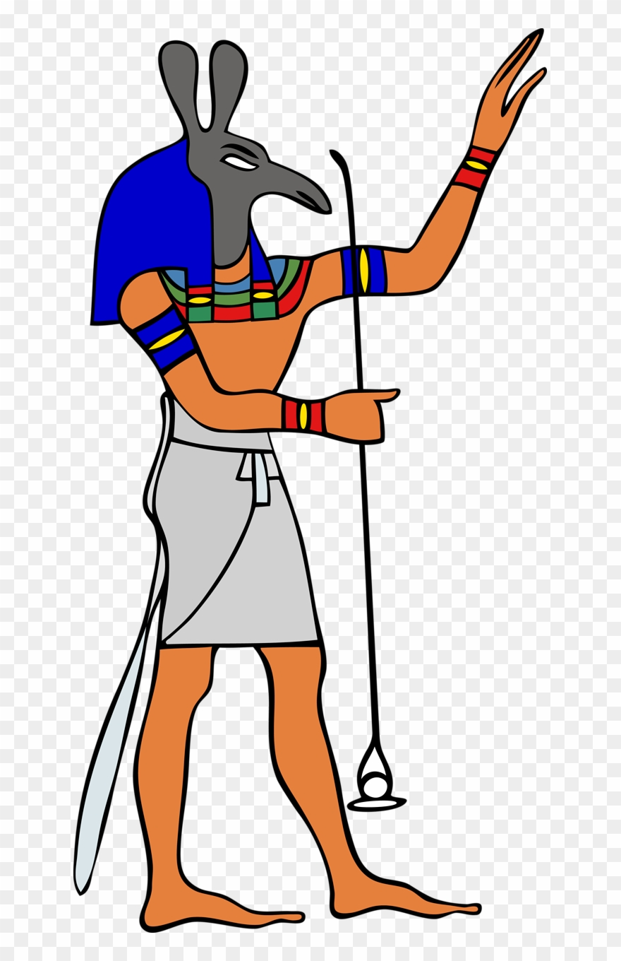 Clipart egyptian gods graphic royalty free Free Egyptian Clip Art - Egyptian Gods And Goddesses - Png Download ... graphic royalty free