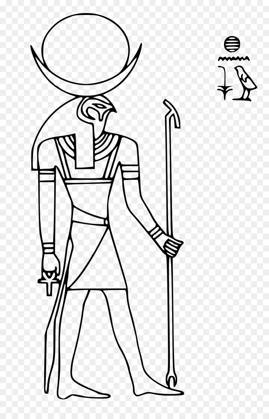 Clipart egyptian gods jpg royalty free library Ancient Egypt Point png download - 1559*2400 - Free Transparent ... jpg royalty free library