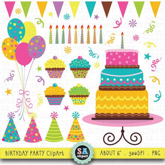 Clipart einladung geburtstag clipart library stock Geburtstag-Partei-ClipArt-Grafiken Geburtstag ClipArt clipart library stock