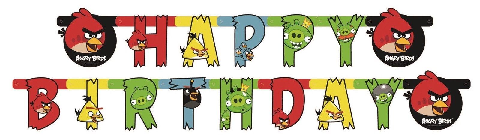 Clipart einladung geburtstag vector stock Angry Birds Geburtstag Partyartikel Party Deko Teller Becher ... vector stock
