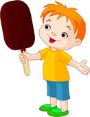 Clipart eis essen picture freeuse download Boy Eating Ice Cream Clip Art - Royalty Free - GoGraph picture freeuse download
