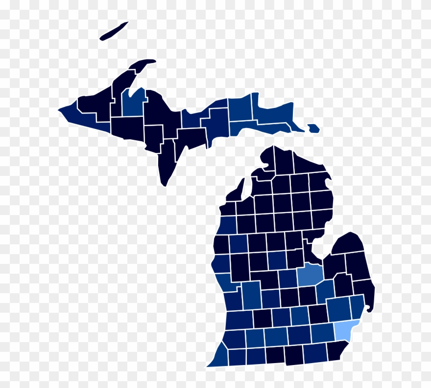 Clipart election results image library Michigan Racial And Ethnic Map - Michigan 2018 Election Results ... image library