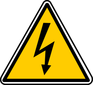 Electric clipart images clip library Warning - Electricity Clip Art at Clker.com - vector clip art online ... clip library