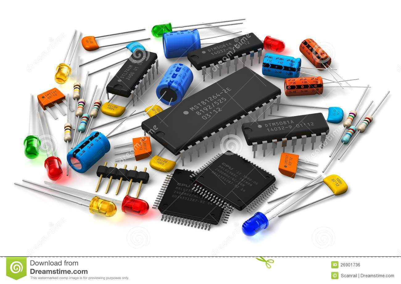 Clipart electronic components jpg free stock Electronic components | Clipart Panda - Free Clipart Images jpg free stock