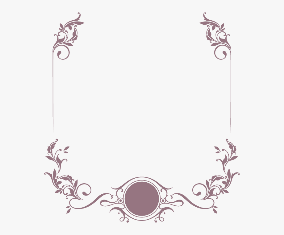 Clipart elegant clip art transparent Pattern Border Png Clipart - Elegant Border For Wedding Invitation ... clip art transparent