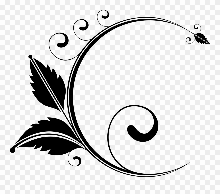 Clipart elements for design graphic library download Elegant Floral Designs Art Drawing Visual Design Elements - Floral ... graphic library download