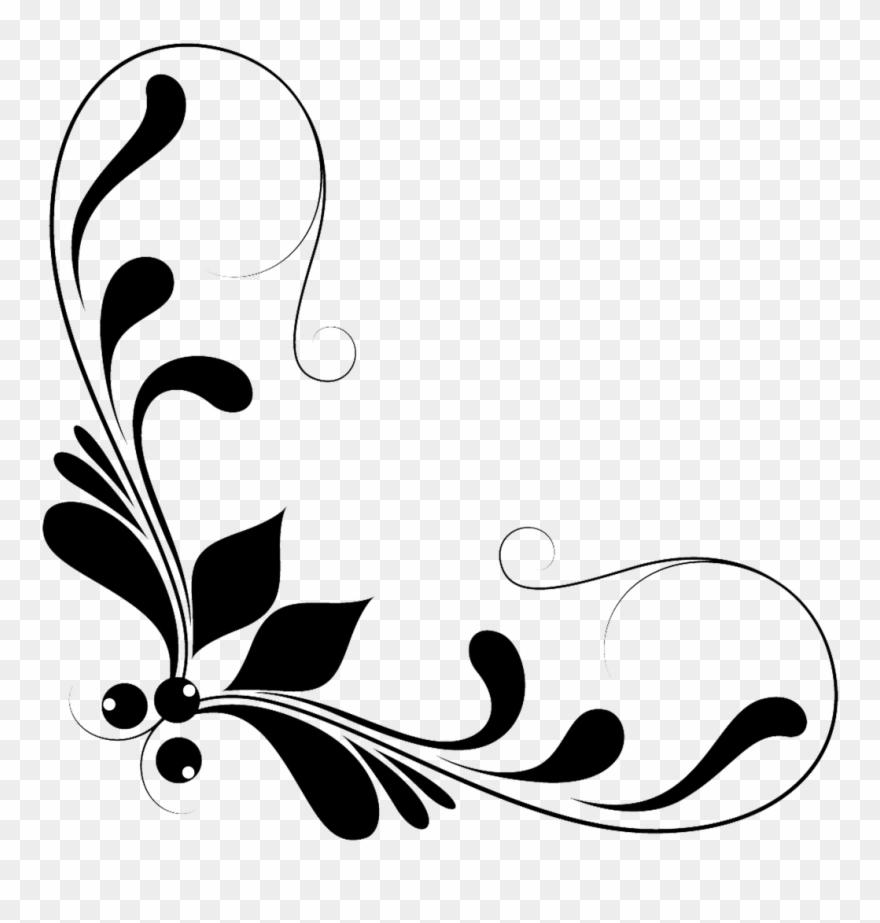 Clipart elements for design graphic free Decorative Corners Floral Design Decorative Arts - Floral Design ... graphic free