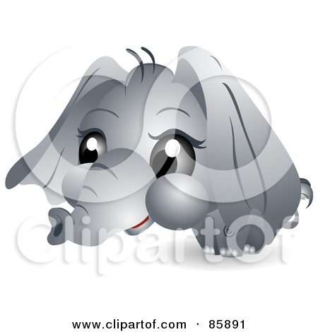 Clipart elephant with big head svg library Clipart elephant with big head - ClipartFest svg library